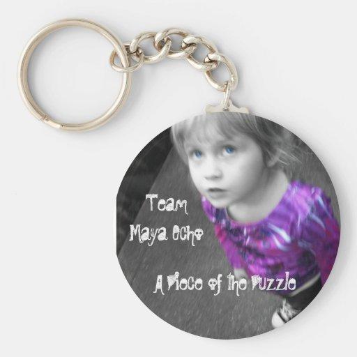 Team Maya Echo Key Chain