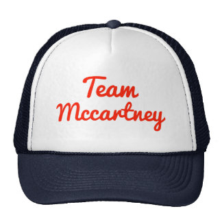 Team Mccartney Trucker Hat
