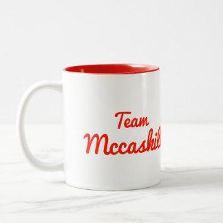 Team Mccaskill Two-Tone Coffee Mug