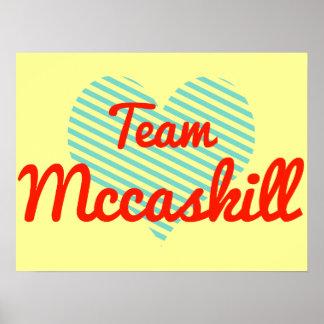 Team Mccaskill Poster