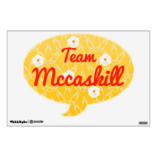 Team Mccaskill Room Graphics