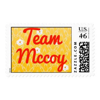 Team Mccoy Stamps
