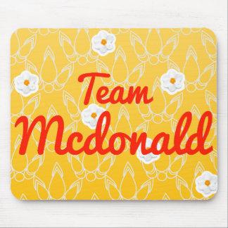 Team Mcdonald Mousepad