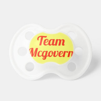 Team Mcgovern Pacifier