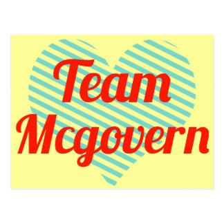 Team Mcgovern Postcard