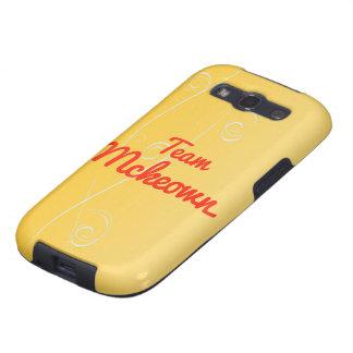 Team Mckeown Galaxy S3 Covers