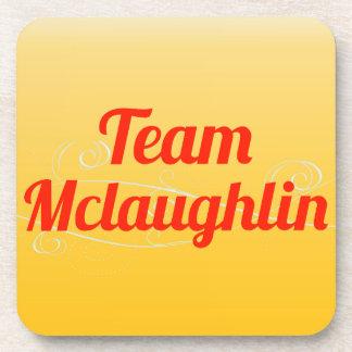 Team Mclaughlin Beverage Coaster