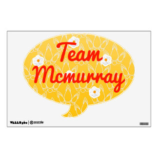 Team Mcmurray Room Graphic