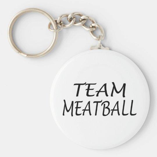 Team Meatball Keychain