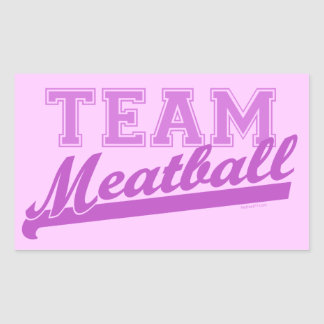 Team Meatball Stickers