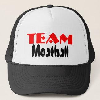 Team Meatball Trucker Hats