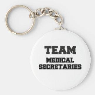 Team Medical Secretaries Key Chains