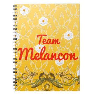 Team Melancon Notebook