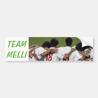 Team Melli... Bumper Sticker
