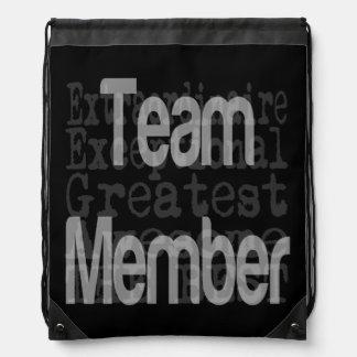 Team Member Extraordinaire Drawstring Bag