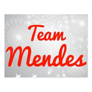 Team Mendes Post Card