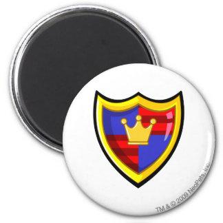 Team Meridell Logo 2 Inch Round Magnet