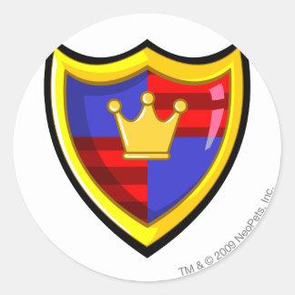 Team Meridell Logo Classic Round Sticker