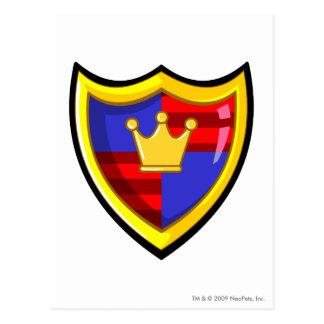 Team Meridell Logo Postcard