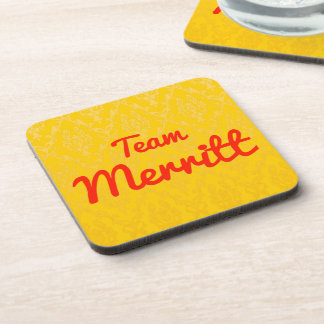 Team Merritt Beverage Coaster