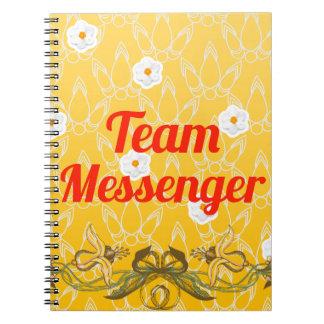 Team Messenger Notebook