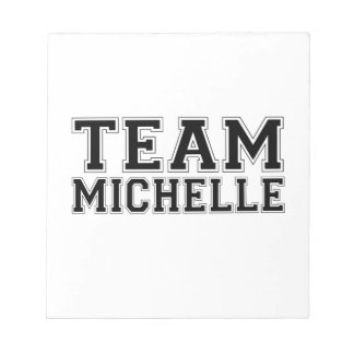 TEAM MICHELLE BLACK.png Notepads