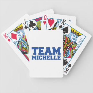 TEAM MICHELLE -.png Bicycle Card Deck