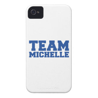 TEAM MICHELLE -.png Case-Mate iPhone 4 Cases