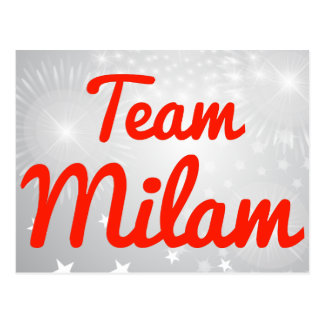 Team Milam Postcard