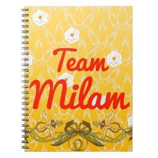 Team Milam Spiral Notebook
