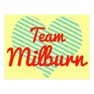 Team Milburn Postcard