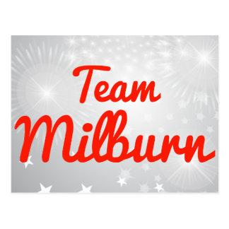 Team Milburn Postcards