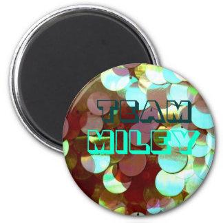 Team Miley 2 Inch Round Magnet