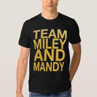 Team Miley and Mandy Tee Shirt