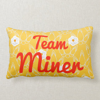 Team Miner Pillow