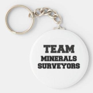 Team Minerals Surveyors Key Chains