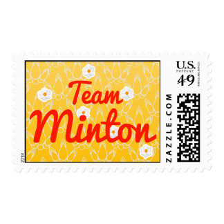 Team Minton Postage Stamp