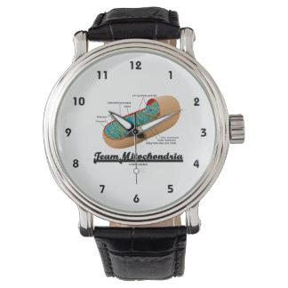 Team Mitochondria (Mitochondrion Humor) Wristwatch