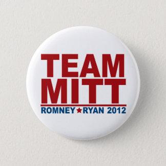 Team Mitt Romney Ryan 2012 Button