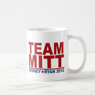 Team Mitt Romney Ryan 2012 Coffee Mug