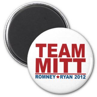 Team Mitt Romney Ryan 2012 Magnet