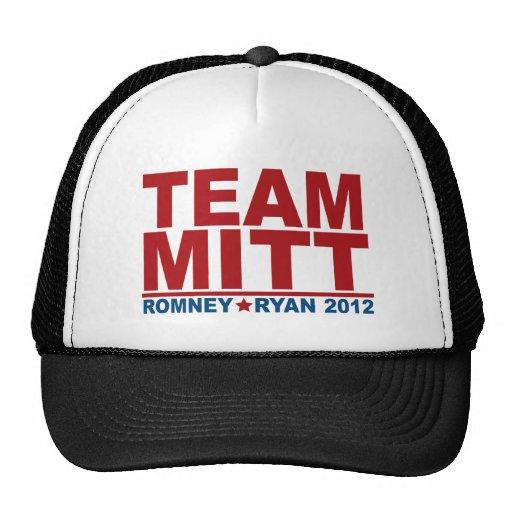 Team Mitt Romney Ryan 2012 Trucker Hat