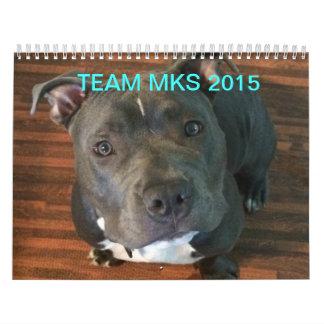 Team MKS 2015 Printed Calendar