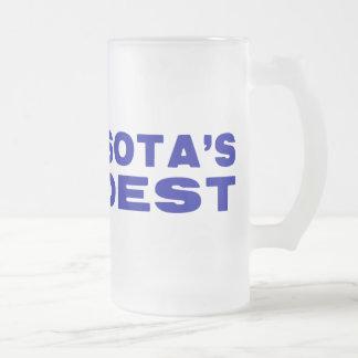 Team MN Loudest Blue Frosty Beer Mug 16oz