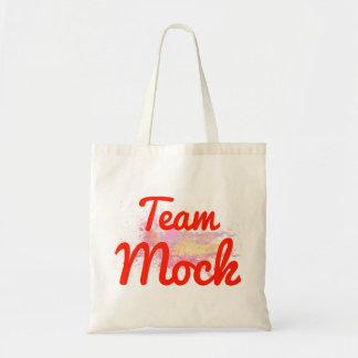 Team Mock Tote Bag