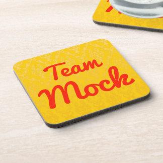 Team Mock Drink Coaster