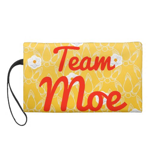 Team Moe Wristlet Purses