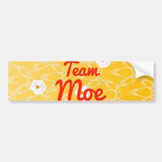 Team Moe Bumper Stickers