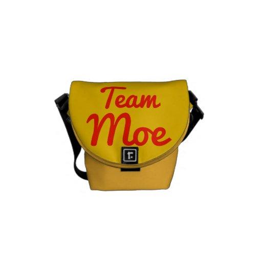 Team Moe Messenger Bags