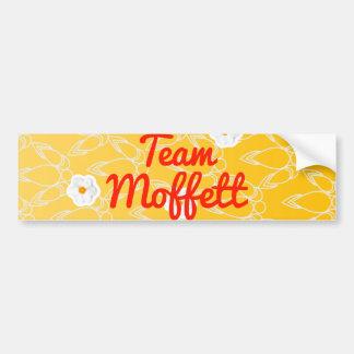 Team Moffett Car Bumper Sticker